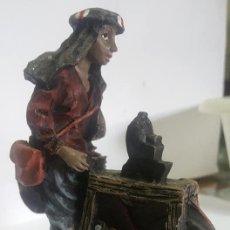 Figuras de Belén: AFILADOR / FIGURA DE BELEN / MARMOLINA O RESINA ¡¡ ENVIO GRATIS ¡¡. Lote 139516074