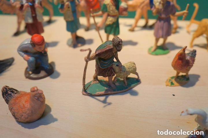 Figuras de Belén: LOTE DE FIGURAS DE BELEN, TODAS LAS DE LA FOTOS, - Foto 2 - 140502262