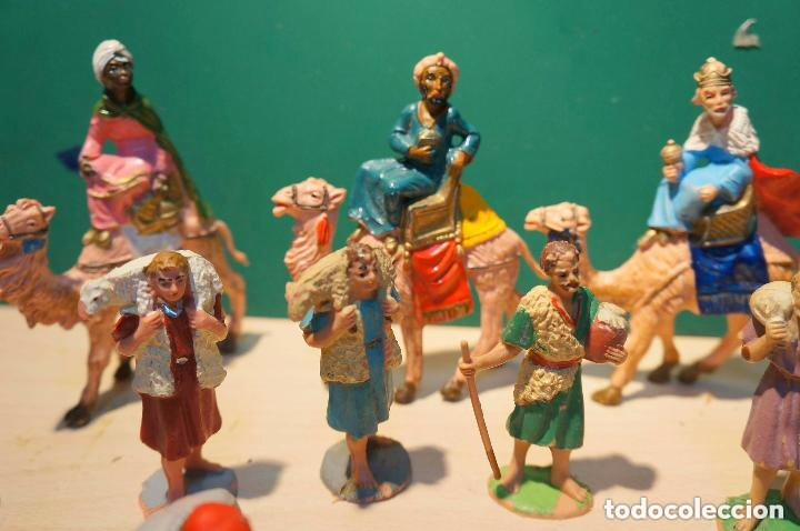 Figuras de Belén: LOTE DE FIGURAS DE BELEN, TODAS LAS DE LA FOTOS, - Foto 3 - 140502262