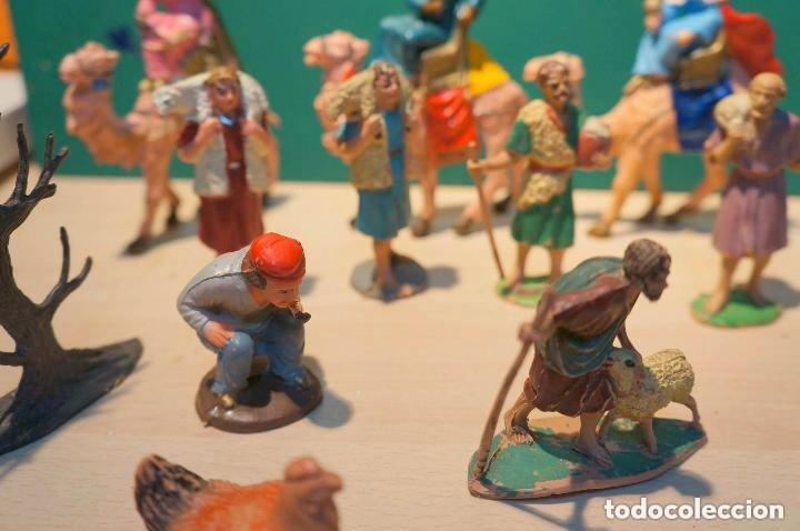 Figuras de Belén: LOTE DE FIGURAS DE BELEN, TODAS LAS DE LA FOTOS, - Foto 6 - 140502262