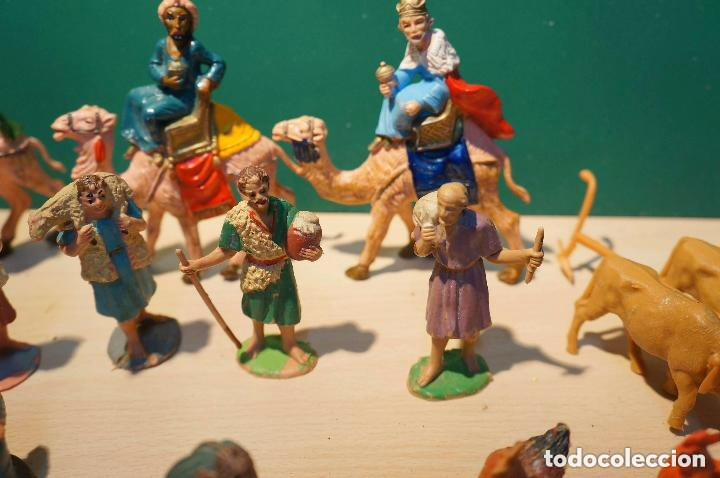 Figuras de Belén: LOTE DE FIGURAS DE BELEN, TODAS LAS DE LA FOTOS, - Foto 10 - 140502262