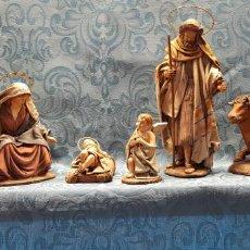Figuras de Belén: BELÉN MURCIANO (TALLER SERRANO) 6 FIGURAS. Lote 140637154