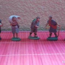 Figuras de Belén: FIGURAS BELÉN NACIMIENTO ANTIGUAS LOTE 6. Lote 140740226