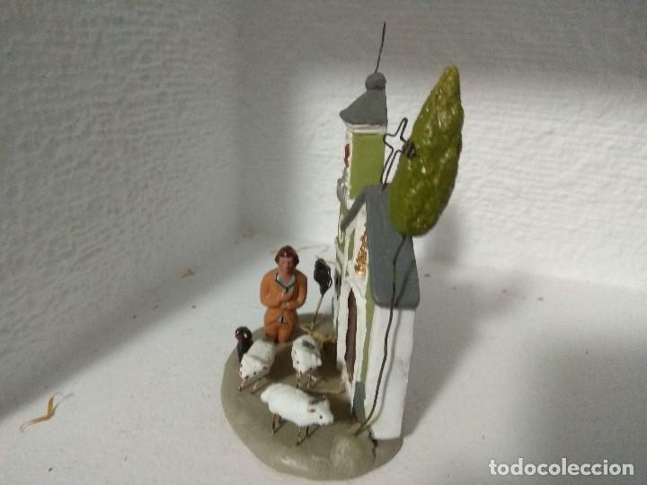 Figuras de Belén: FIGURA BELEN PESEBRE NACIMIENTO BARRO TERRACOTA MUY ANTIGUOS CACHACHERRIA MURCIANA - Foto 4 - 140843758