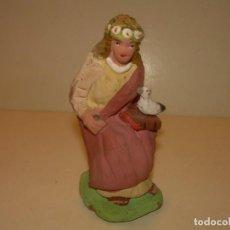 Figuras de Belén: FIGURA DE TERRACOTA....CAGANE - CAGANER - CAGON.. Lote 141485250