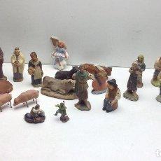 Figuras de Belén: LOTE DE FIGURAS DE BELEN - PESEBRE -PARA RESTAURAR ANTIGUAS DE TERRACOTA - MIRAR FOTOS ADICIONALES. Lote 141755262