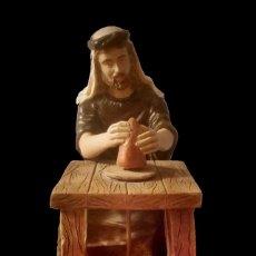 Figuras de Belén: FIGURA DE BELÉN ALFARERO, PRECIOSO. Lote 142822174