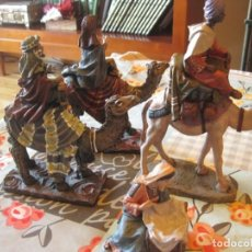 Figuras de Belén: REYES Y LABANDERA ( DEL PRADO Y OTROS. Lote 143028954