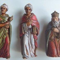 Figuras de Belén: REYES MAGOS FIGURAS BELÉN ESCALA MADE IN SPAIN VINTAGE OCASIÓN. Lote 143152886