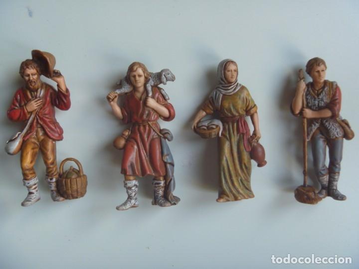PASTORES MUJERES LOTE FIGURAS ADORACIÓN BELÉN ESCALA MADE IN SPAIN VINTAGE EXCLUSIVAS OCASIÓN (Coleccionismo - Figuras de Belén)