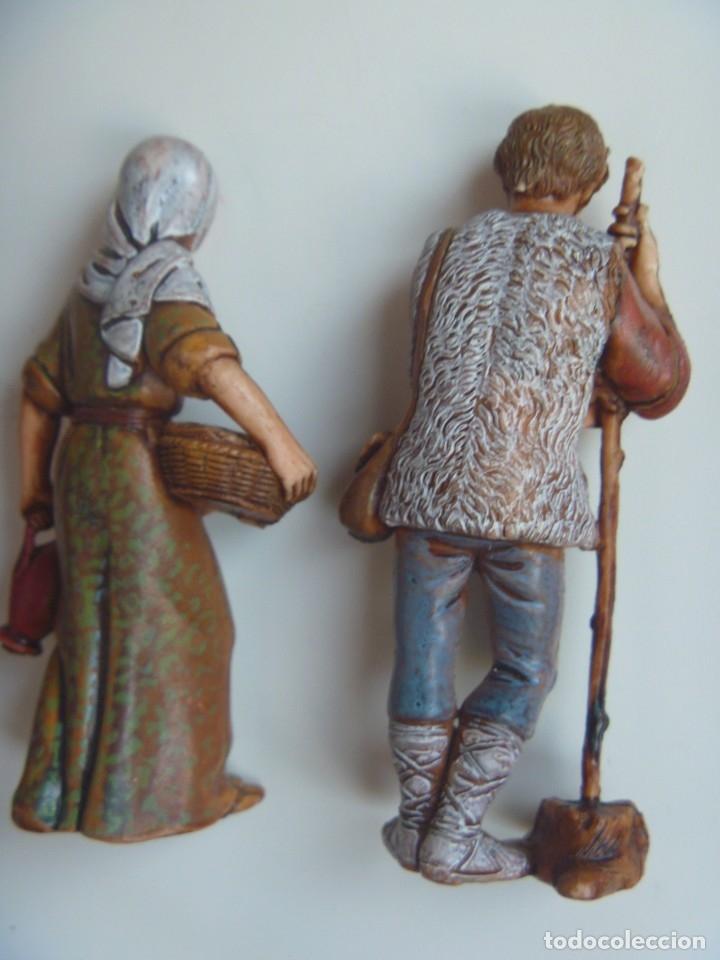 Figuras de Belén: PASTORES MUJERES LOTE FIGURAS ADORACIÓN BELÉN ESCALA MADE IN SPAIN VINTAGE EXCLUSIVAS OCASIÓN - Foto 7 - 209990230