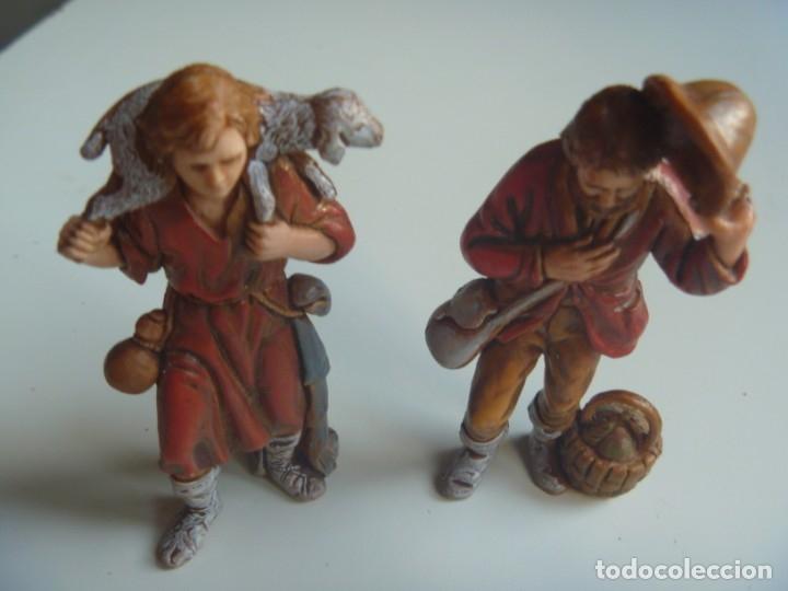 Figuras de Belén: PASTORES MUJERES LOTE FIGURAS ADORACIÓN BELÉN ESCALA MADE IN SPAIN VINTAGE EXCLUSIVAS OCASIÓN - Foto 8 - 209990230