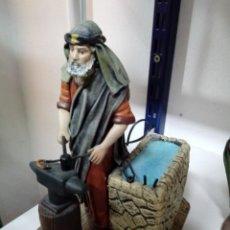 Figuras de Belén: HERRERO CON MOVIMIENTO. Lote 143319062