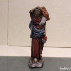 Figuras de Belén: BELEN - PASTORA BARRO / TERRACOTA - ALTURA DE LA PIEZA 8,5 CM. Lote 143336990