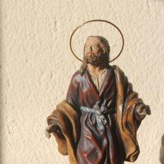 Figuras de Belén: FIGURA DE BELEN NACIMIENTO TERRACOTA SAN JOSÉ 19 CM ALTURA PESO 393 GR BASE 7 CM X 6 CM. Lote 143606418