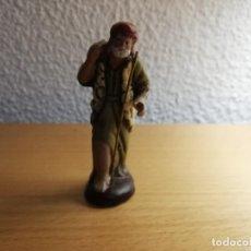 Figuras de Belén: FIGURA DE PASTOR PARA BELÉN, PESEBRE, MISTERIO HUEVO FRITO O CACHARRERIA . Lote 144161562