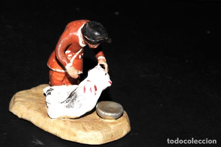 Figuras de Belén: FIGURA DE BELEN O PESSEBRE EN BARRO O TERRACOTA - Foto 6 - 145252770