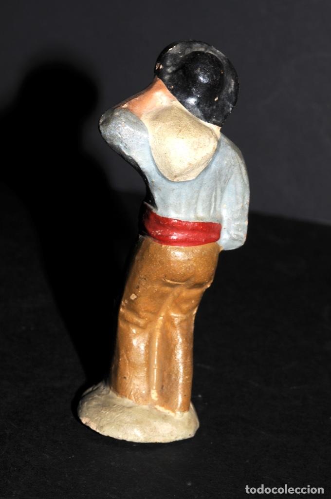 Figuras de Belén: FIGURA DE BELEN O PESSEBRE EN BARRO O TERRACOTA - NIÑO CON SACO - Foto 3 - 145253086