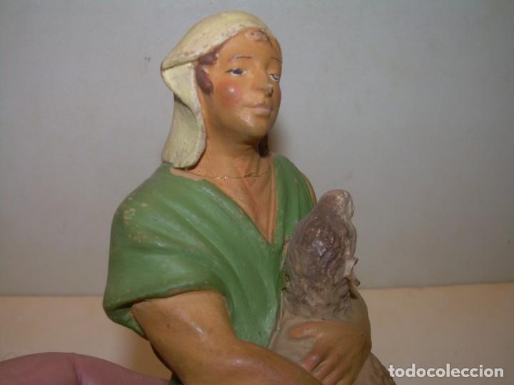 Figuras de Belén: MUNS- ANTIGUA FIGURA TERRACOTA - Foto 5 - 145483578