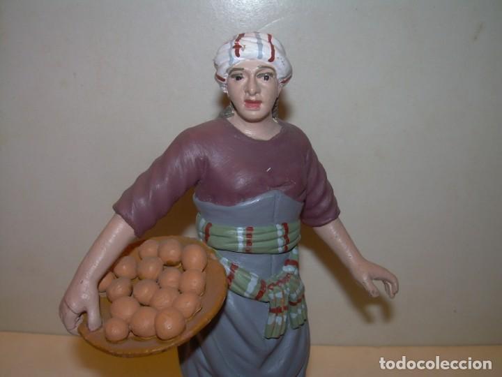 ANDREU MUNS I FERNANDEZ (1939 - 2004)- FIGURA DE TERRACOTA.- FIRMADA EN LA BASE (Coleccionismo - Figuras de Belén)