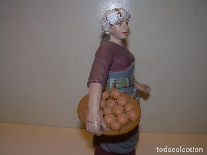 Figuras de Belén: ANDREU MUNS I FERNANDEZ (1939 - 2004)- FIGURA DE TERRACOTA.- FIRMADA EN LA BASE - Foto 3 - 145487554