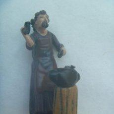 Figuras de Belén: FIGURITA ANTIGUA DE TERRACOTA DEL BELEN : HERRERO.. Lote 146021626