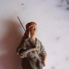 Figuras de Belén: FIGURA BARRO BELÉN, BRAZO PLOMO. 6 CMS. ALTURA.. Lote 146155478