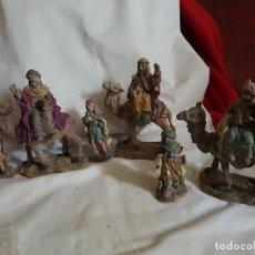 Figuras de Belén: REYES MAGOS CON CAMELLO. Lote 146533422