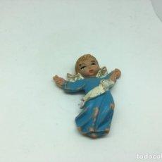Figuras de Belén: FIGURA DE BELEN CABEZONES ANGEL DE LA GUARDA PECH FERRANDIZ 6 CM.. Lote 146609442