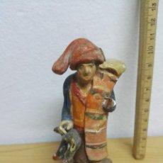 Figuras de Belén: FIGURA DE BARRO PAYÈS PARA PESSEBRE O BELEN. Lote 147212654