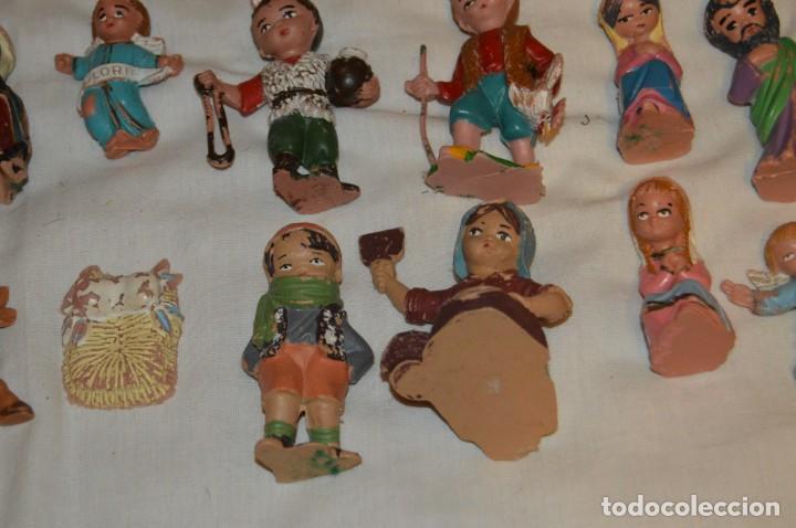 Figuras de Belén: BELEN O NACIMIENTO DE LOS AÑOS 70 - HERMANOS PECH Y OTROS - MADE IN SPAIN - CABEZONES / CABEZUDOS - Foto 15 - 147396686