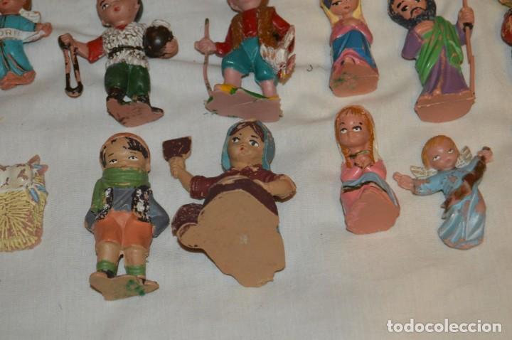 Figuras de Belén: BELEN O NACIMIENTO DE LOS AÑOS 70 - HERMANOS PECH Y OTROS - MADE IN SPAIN - CABEZONES / CABEZUDOS - Foto 16 - 147396686