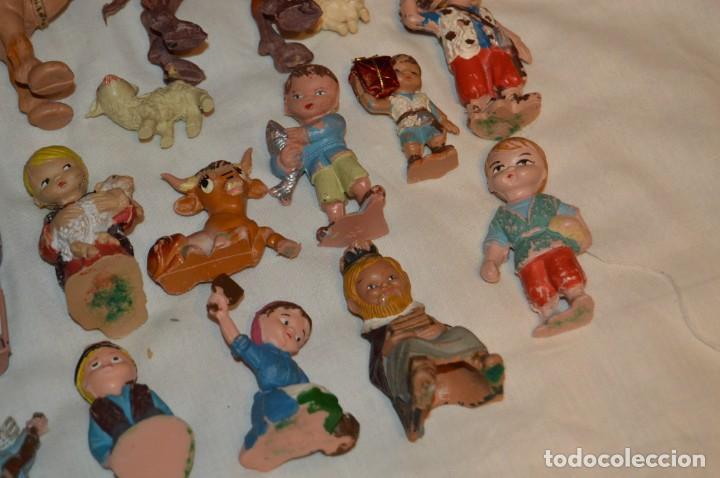 Figuras de Belén: BELEN O NACIMIENTO DE LOS AÑOS 70 - HERMANOS PECH Y OTROS - MADE IN SPAIN - CABEZONES / CABEZUDOS - Foto 18 - 147396686