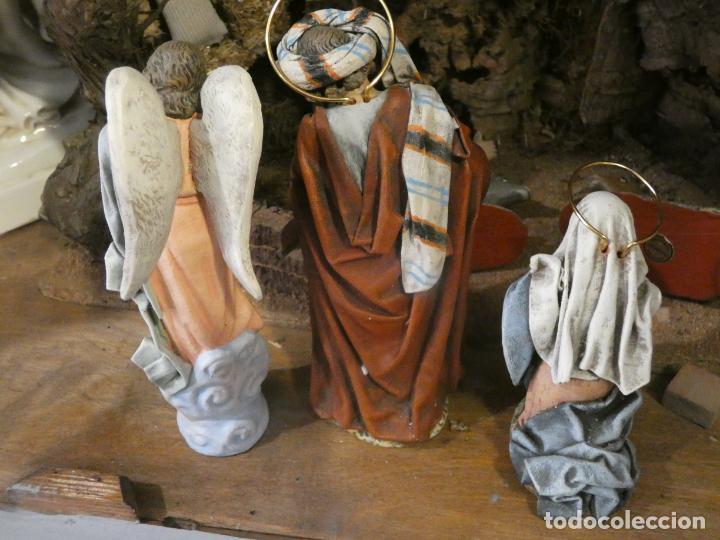 Figuras de Belén: Belen,nacimiento, pesebre J. Fernández Decoarte. caja original. San josé 16 cms, Virgen 10 cms - Foto 2 - 148300822