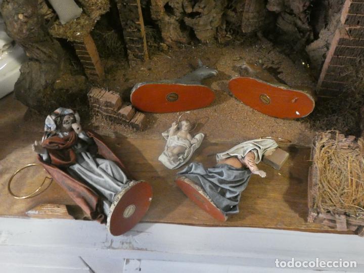 Figuras de Belén: Belen,nacimiento, pesebre J. Fernández Decoarte. caja original. San josé 16 cms, Virgen 10 cms - Foto 3 - 148300822