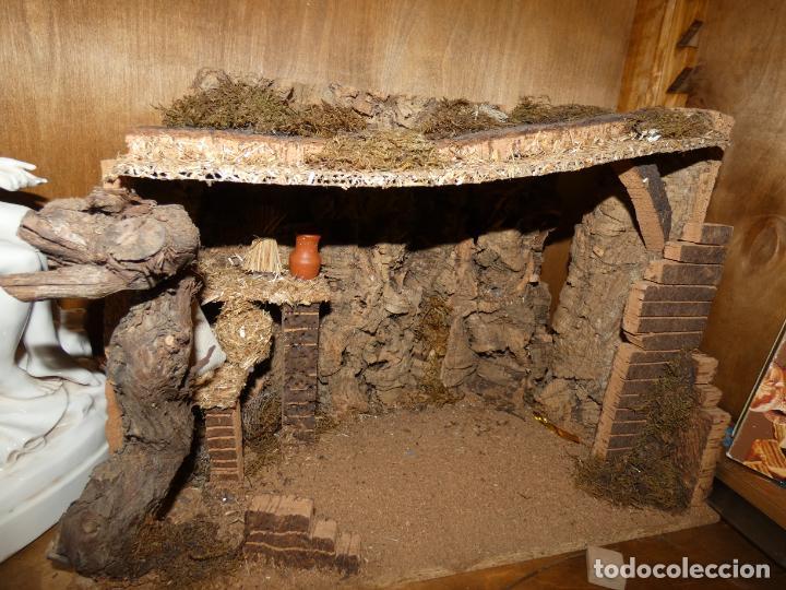 Figuras de Belén: Belen,nacimiento, pesebre J. Fernández Decoarte. caja original. San josé 16 cms, Virgen 10 cms - Foto 10 - 148300822