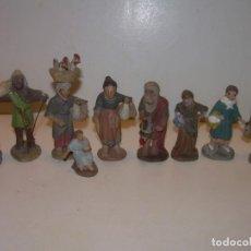 Figuras de Belén: ANTIGUAS FIGURAS DE TERRACOTA.. Lote 148503014