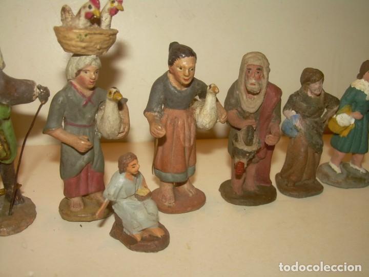 Figuras de Belén: ANTIGUAS FIGURAS DE TERRACOTA. - Foto 3 - 148503014