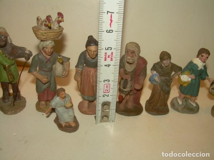 Figuras de Belén: ANTIGUAS FIGURAS DE TERRACOTA. - Foto 5 - 148503014