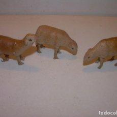 Figuras de Belén: ANTIGUAS FIGURAS DE TERRACOTA.. Lote 148503958
