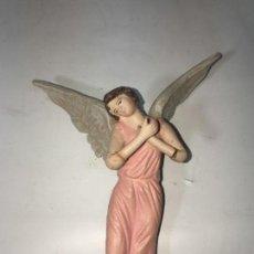 Figuras de Belén: FIGURA BELEN ANGEL TAMAÑO 16 CMTS DE OLOT. RAV800. Lote 149836982