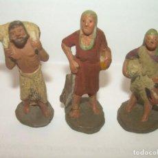 Figuras de Belén: ANTIGUAS Y PEQUEÑAS FIGURAS DE TERRACOTA PARA BELEN...BUENA CALIDAD PERFECTO ESTADO DE CONSERVACION.. Lote 150586686