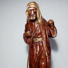 Figuras de Belén: FIGURA SAN JOSÉ EN ESCAYOLA (BELÉN) 28 CENTÍMETROS DE ALTO. Lote 151292602