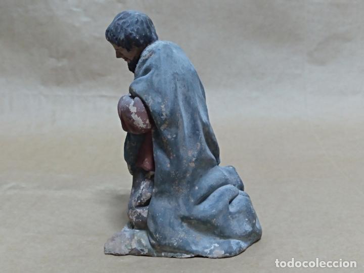 Figuras de Belén: Pastor. Nacimiento/Belén/Pesebre. Barro. - Foto 4 - 151536790