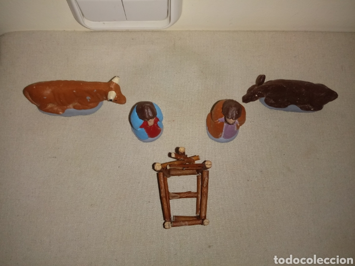 Figuras de Belén: Figuras de belén. misterio huevo frito - Foto 2 - 155176764