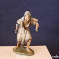 Figuras de Belén: FIGURA DE BELEN, PESEBRE, BARRO, O TERRACOTA. Lote 156041746