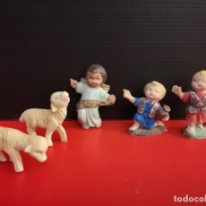 Figuras de Belén: FIGURAS BELÉN LOTE DE PECH CABEZONES DE FERRANDIZ. Lote 156914454