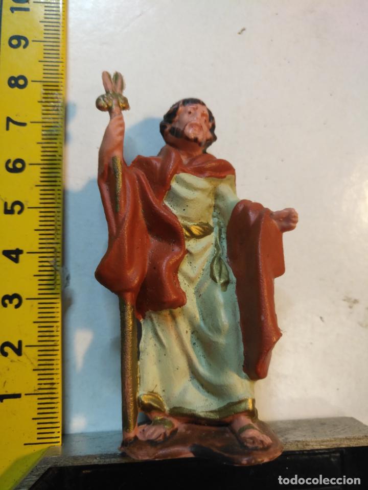 ANTIGUA FIGURA PORTAL DE BELEN PLASTICO DURO . MAS MODELOS EN TIENDA - PVC - BELENES OFERTAS POR LOT (Coleccionismo - Figuras de Belén)