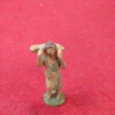 Figuras de Belén: FIGURA BELÉN DE PLOMO. Lote 159546122