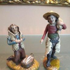 Figuras de Belén: FIGURA BELEN PESEBRE NACIMIENTO BARRO TERRACOTA ESCULTOR RADA (GRANADA) MUY ANTIGUO. Lote 159841622